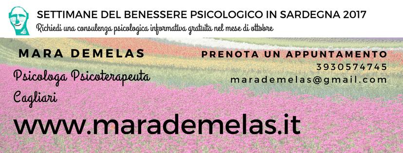 Settimana del Benessere Psicologico Sardegna - Cagliari