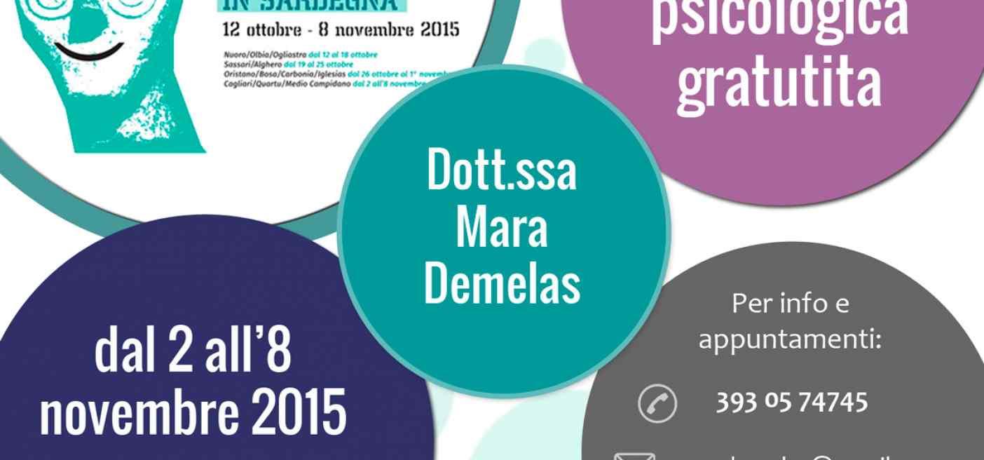 Settimana del Benessere psicologico - Cagliari